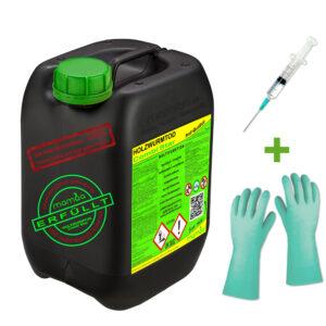 mamba Holzwurmtod CombiStar - 2,5 Liter + Spritze + Handschuhe